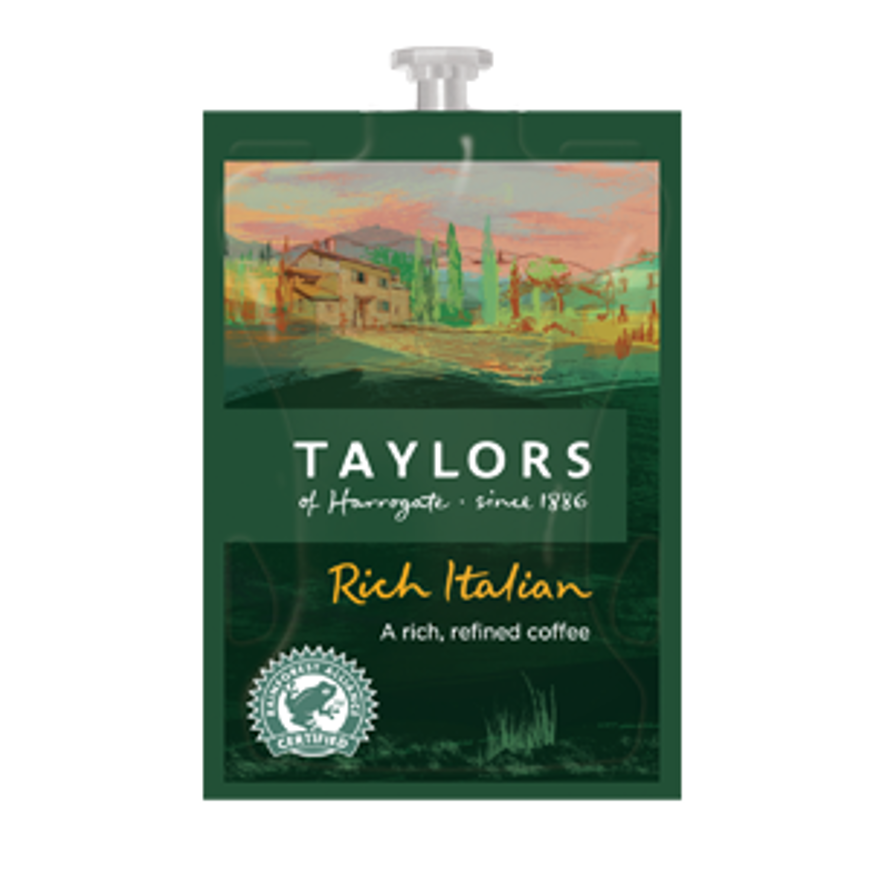 Picture of Taylors Rich Italian Ground Coffee - Flavia Sachets