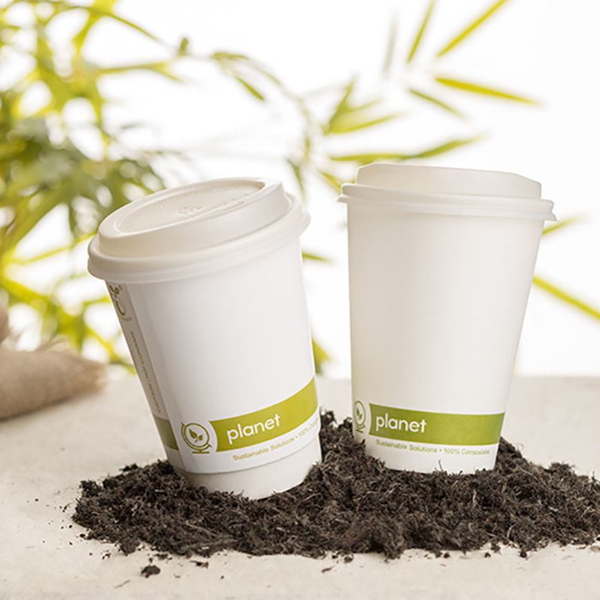 Picture of 7oz Paper Compostable Cups