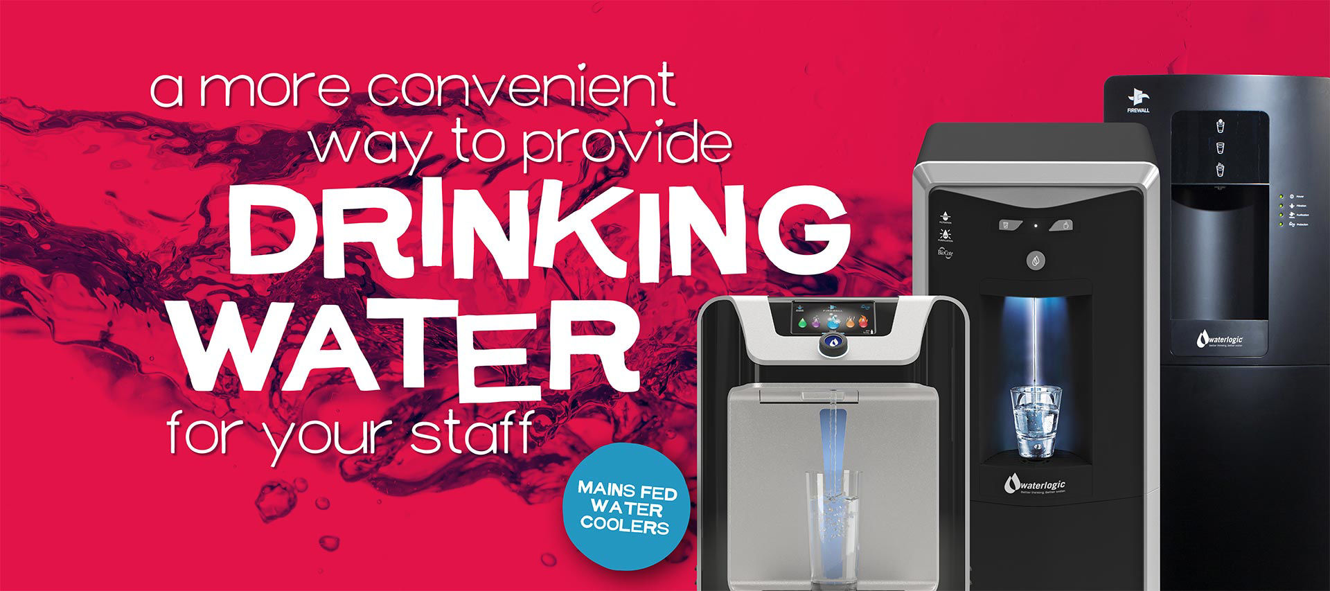 Drinking Water For Your Staff